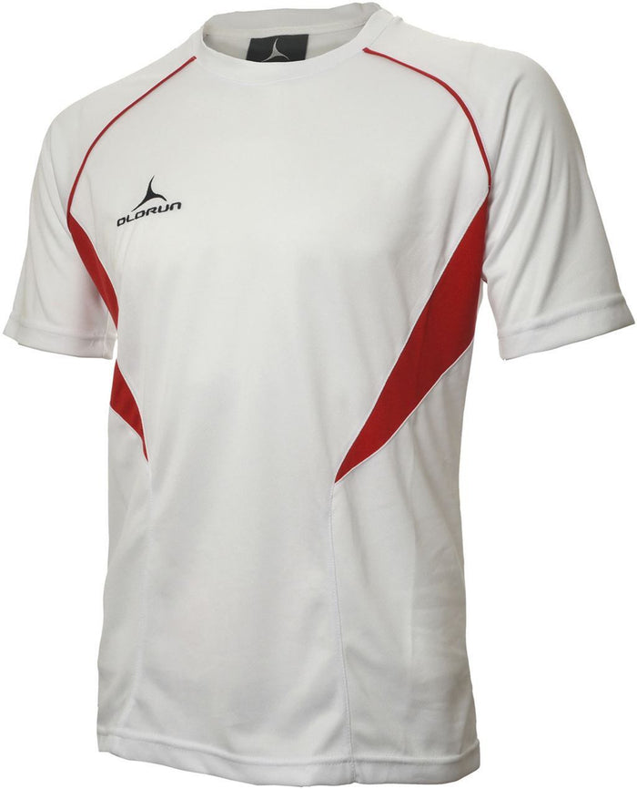 Olorun Flux T Shirt White/Red (Fast Delivery)