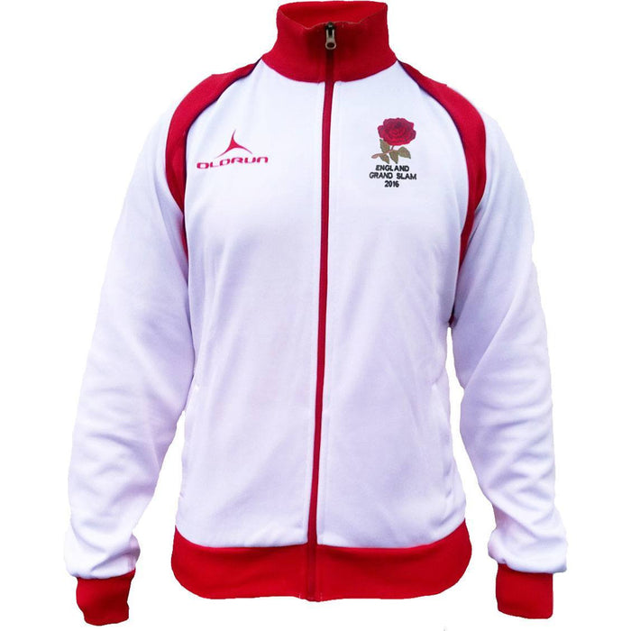 Olorun VI Nations Grand Slam 2016 England Supporters Jacket White/Red Size