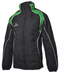 Olorun Adult's Iconic Full Zip Jacket - Black/Emerald/White