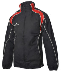 Olorun Adult's Iconic Full Zip Jacket - Black/Red/White