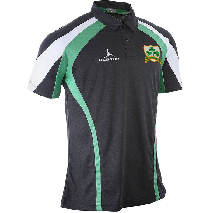 Olorun Kinetic Ireland Rugby Polo Shirt (Fast Delivery)