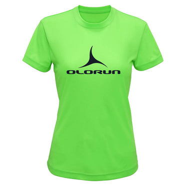 Olorun Activ Ladies Preformance T-Shirt - Gecko Green