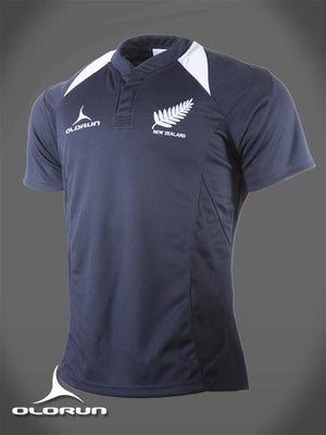 Olorun New Zealand Rugby Shirt (Fast Delivery)