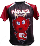 Olorun Kids' Mini Dragon Wales Rugby Shirt Phillips (Fast Delivery)