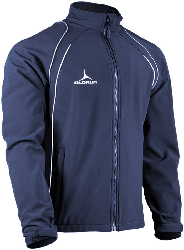 Olorun Precept Soft Shell Jacket Navy/Silver/White