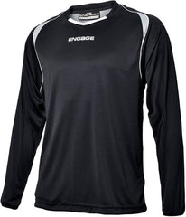 Engage Premium Kids' Football Shirt Black/Silver/White (Fast Delivery)