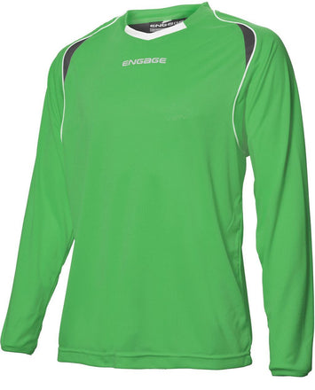 Engage Premium Football Shirt Emerald/Black/White (Fast Delivery)