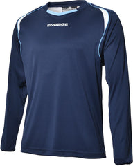 Engage Premium Football Shirt Navy/White/Sky (Fast Delivery)