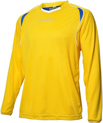 Engage Premium Kids' Football Shirt Yellow/Royal/White (Fast Delivery)