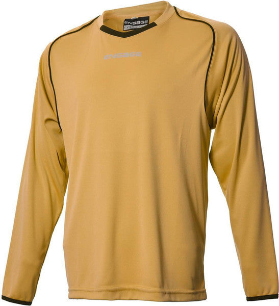 Engage Pro Kids' Football Shirt Bronze/Black (Fast Delivery)
