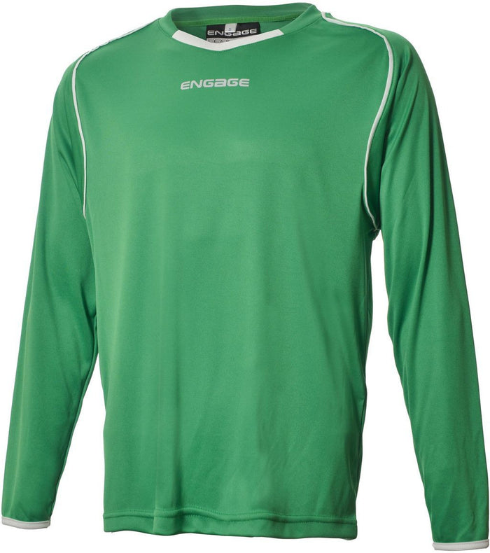 Engage Pro Football Shirt Emerald/White (Fast Delivery)
