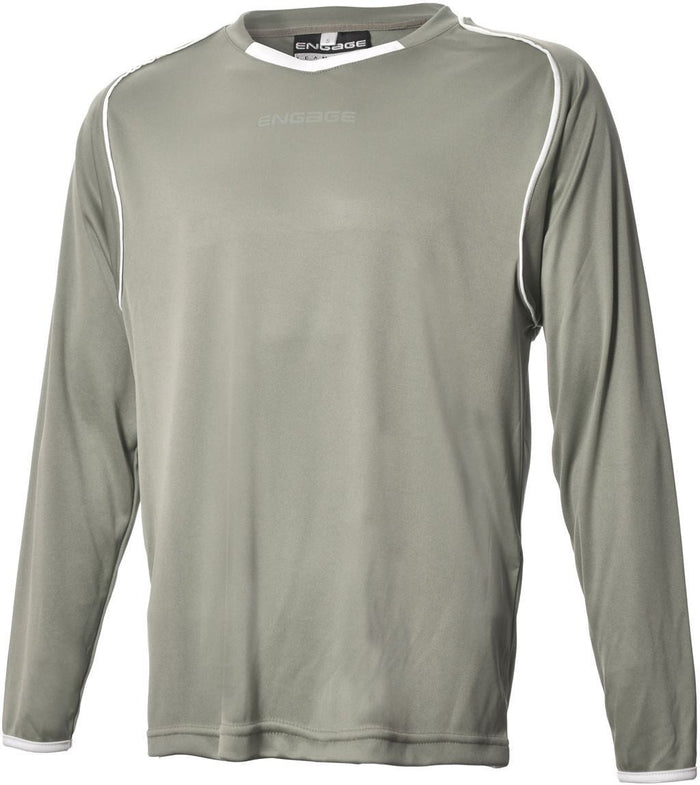 Engage Pro Football Shirt Silver/White (Fast Delivery)