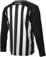 Engage Pro-Stripe Kids' Football Shirt Black/White/Bronze (Fast Delivery)