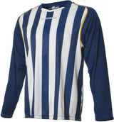 Engage Pro-Stripe Navy/White/Bronze Football Shirt  (Fast Delivery)