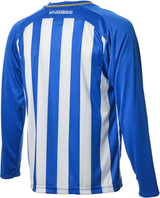 Engage Pro-Stripe Royal/White/Bronze Football Shirt  (Fast Delivery)