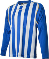 Engage Pro-Stripe Kids' Football Shirt  Royal/White/Bronze  (Fast Delivery)