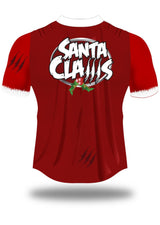 Santa Claws Olorun Christmas Rugby Shirt