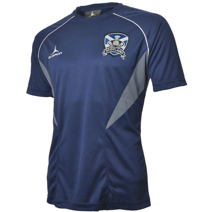 Olorun Flux Scotland Rugby T Shirt (Fast Delivery)