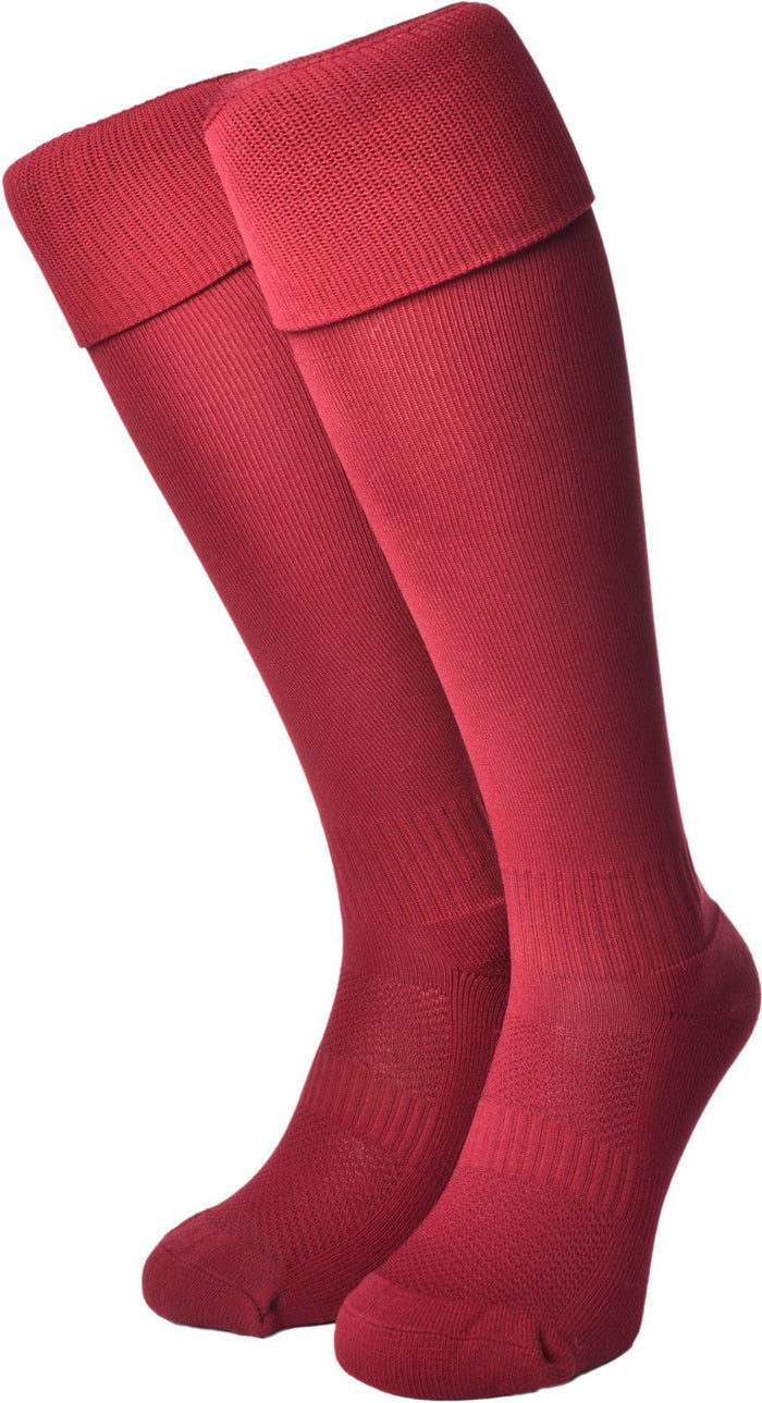 Olorun Euro Socks Burgundy (Fast Delivery)