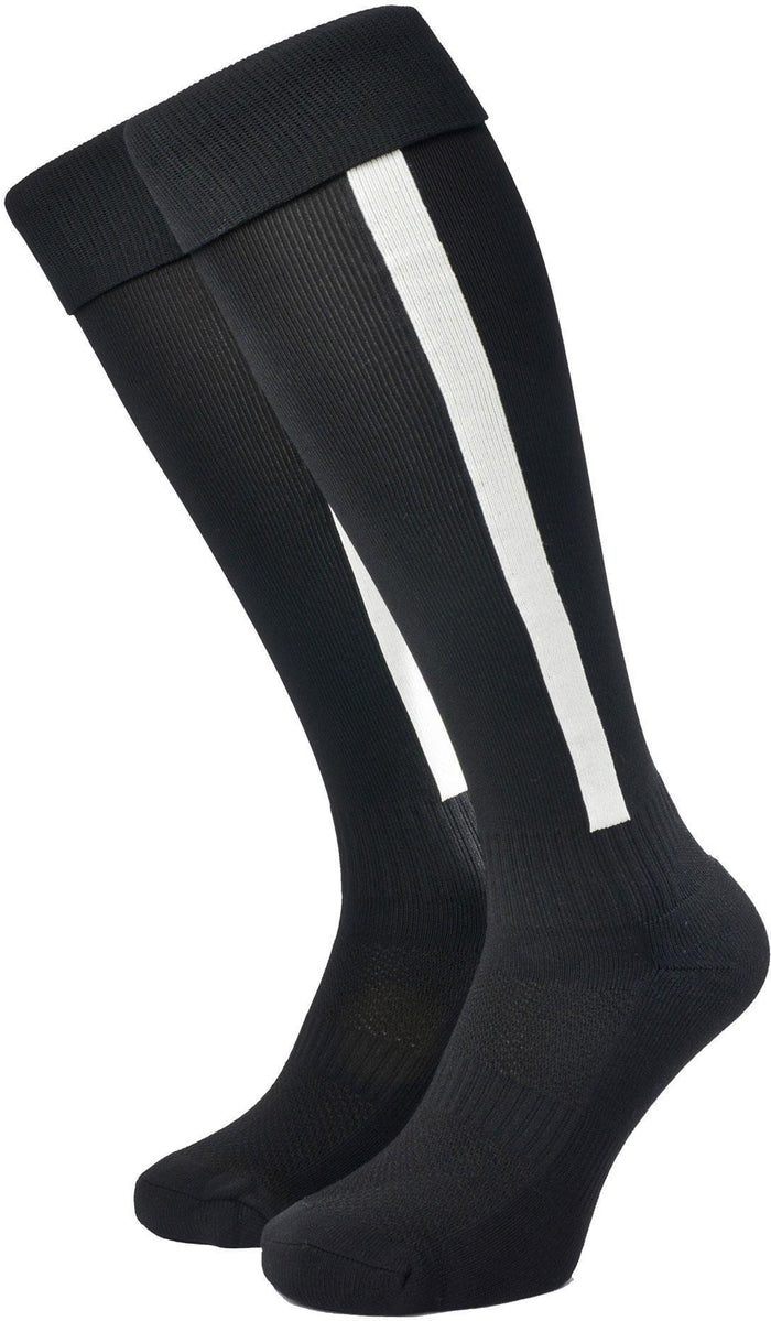 Olorun Euro Striped Socks Black/White (Fast Delivery)