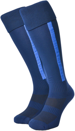 Olorun Euro Striped Socks Navy/Royal (Fast Delivery)