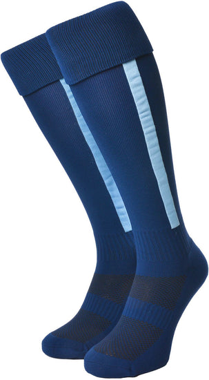 Olorun Euro Striped Socks Navy/Sky (Fast Delivery)