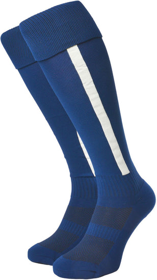 Olorun Euro Striped Socks Navy/White (Fast Delivery)