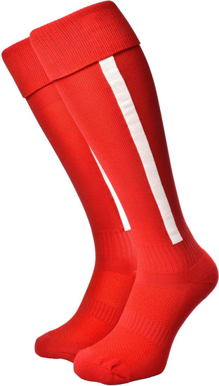 Olorun Euro Striped Socks Red/White (Fast Delivery)