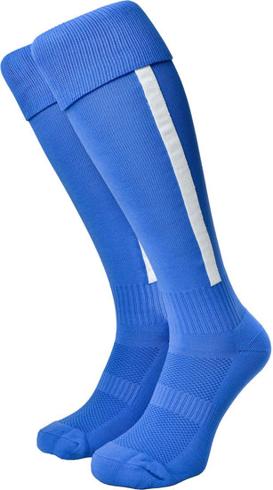 Olorun Euro Striped Socks Royal/White (Fast Delivery)