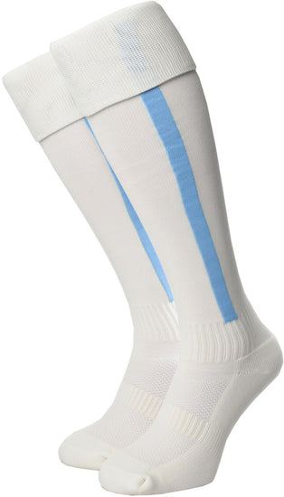 Olorun Euro Striped Socks White/Sky (Fast Delivery)