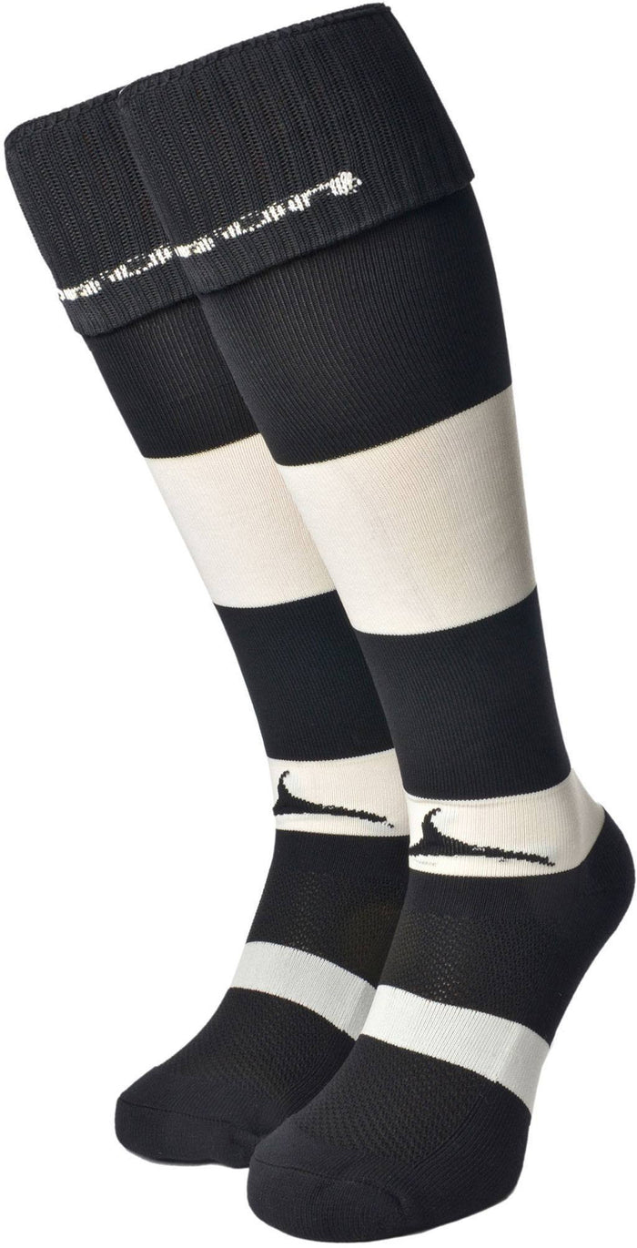 Olorun Hooped Socks Black/White (Fast Delivery)