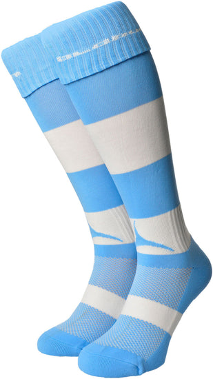 Olorun Hooped Socks Sky/White (Fast Delivery)