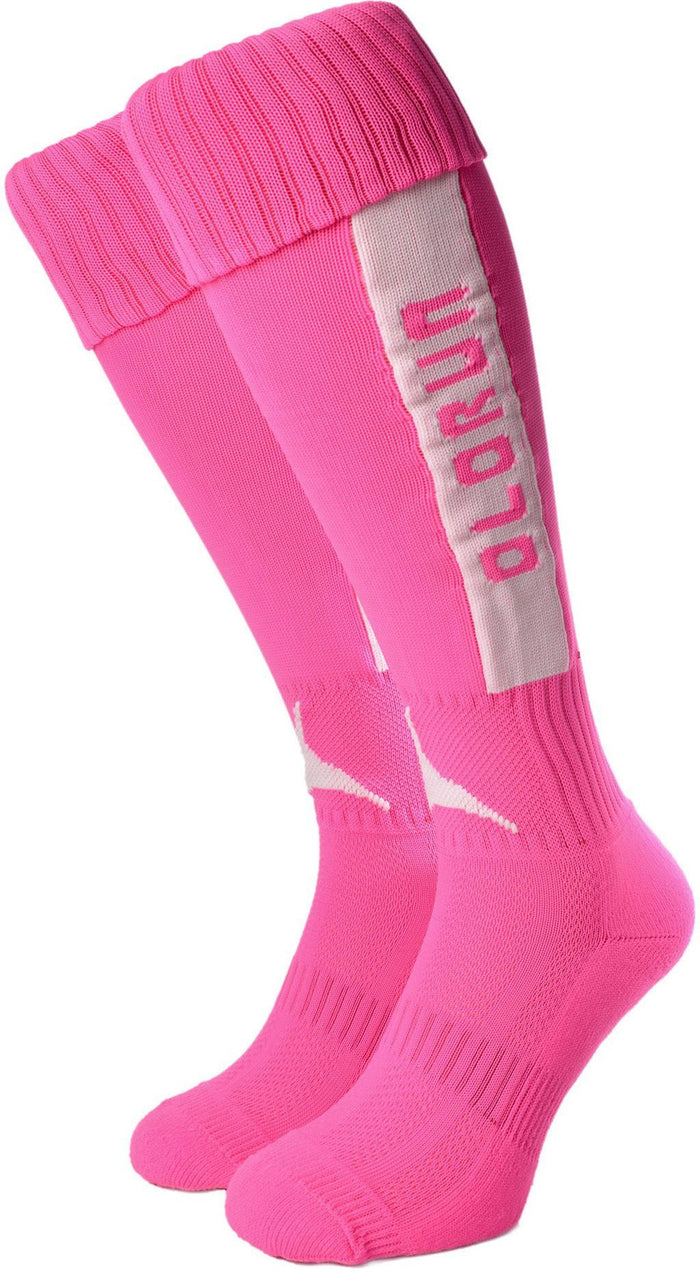 Olorun Original Socks Hot Pink/White (Fast Delivery)