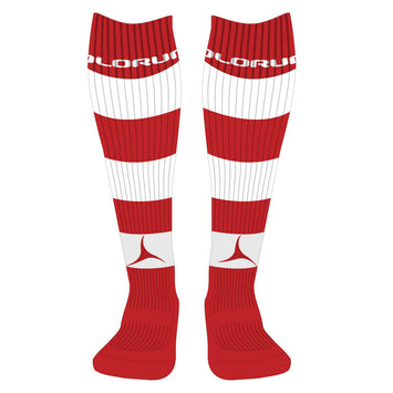 Bridgend Hockey Hooped Socks - Away