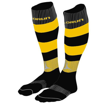 St Davids RFC Hooped Rugby Socks