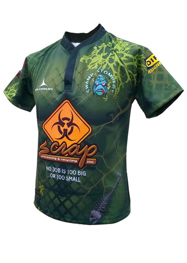 Olorun Swamp Stompers Halloween Rugby Shirt