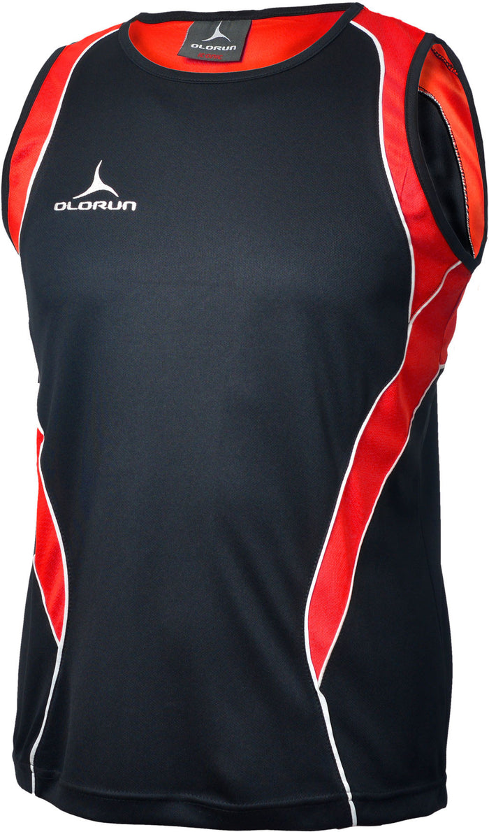 Olorun Iconic Vest Black/Red/White (Fast Delivery)