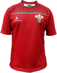 Olorun Six Nations Sublimated Wales Rugby Shirt (Fast Delivery)