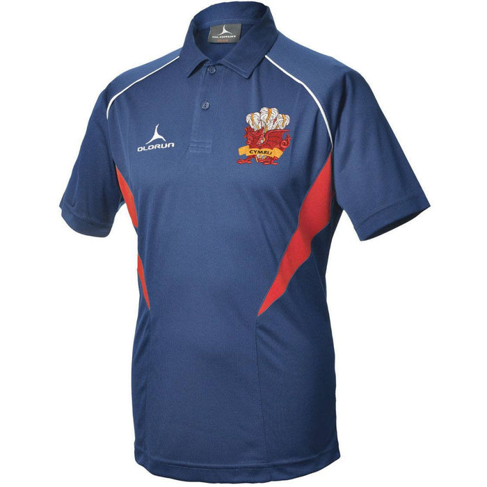 Olorun Flux Wales Rugby Polo Shirt Away Colours (Fast Delivery)