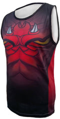 Olorun Dark Dragon Wales Rugby Vest (Fast Delivery)