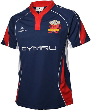 Olorun Wales Rugby Shirt Away Colours (Fast Delivery)