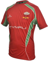 Olorun Wales Rugby T Shirt Home Colours (Fast Delivery)