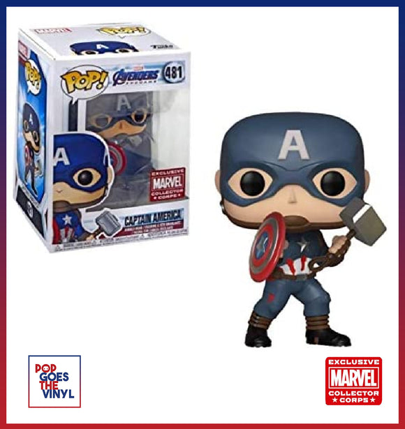 Captain America w/Mjolnir #481 Marvel Collector Corps