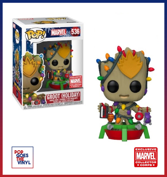 Holiday Groot #536 Marvel Collector Corps