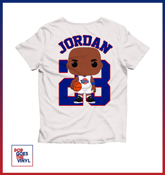 Jordan Space Jam Custom T Shirt