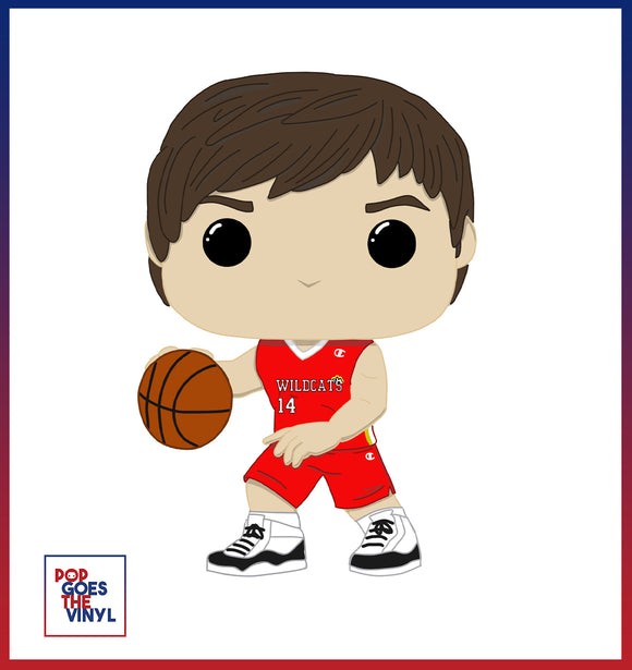Troy Bolton HSM  Custom Pop