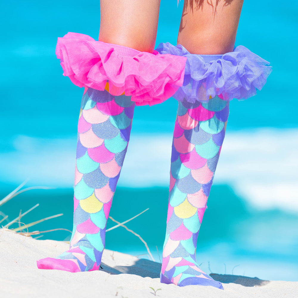 MERMAID FRILLS SOCKS