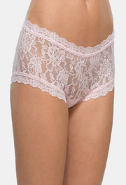 Bendon Light Pink Lace Boyshort - Meet Desires