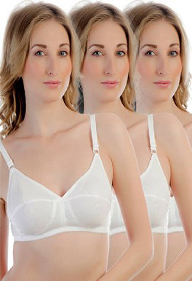 Cotton Comfort Bra(PK Of 3) - Meet Desires