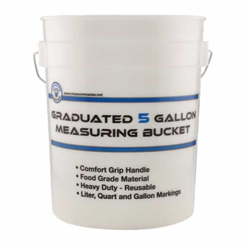 Graduated 5 Gallon Measuring Bucket